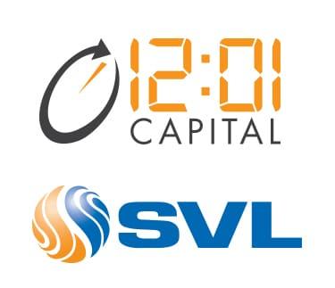 Branding, Logos, 12:01 Capital, SVL