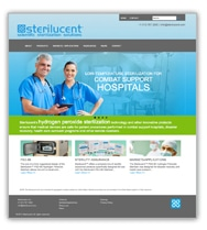 Sterilucent website