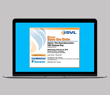 SVL, Save the date, Event Marketing