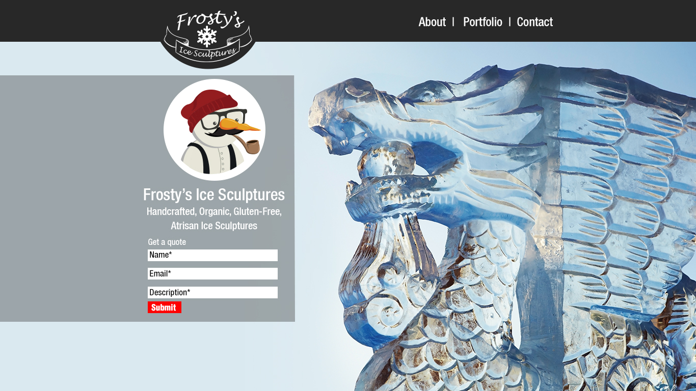 Frostys site
