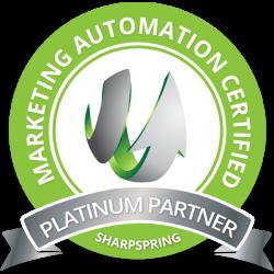 Certified SharpSpring Platinum Partner